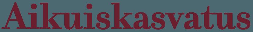Aikuiskasvatuksen logo